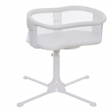 Bassinest Swivel Sleeper White Honeycomb