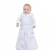 SleepSack Swaddle NB, Quilted cotton muslin, Constellation Blue, Platinum Series by Halo in Irvine Ca