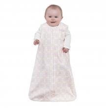 SleepSack Wearable Blanket Cotton Medallion Tonal Pink, Size Large