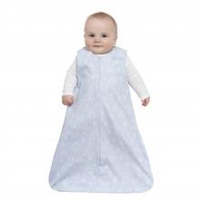 SleepSack Wearable Blanket Cotton Woodland Etch Blue, Size Med