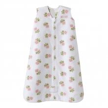 SleepSack Wearable Blanket Micro Fleece - Rose Art Pink, Size Med