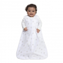 SleepSack Wearable Blanket Micro Fleece - Dot Sketch White, Size SM by Halo in Dothan Al