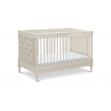 Everly 4-in-1 Convertible Crib w/Toddler Convrsn Kit, Distressed White No Marks by Franklin & Ben in La Quinta Ca