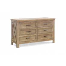 Emory Farmhouse 6-Drawer Dresser