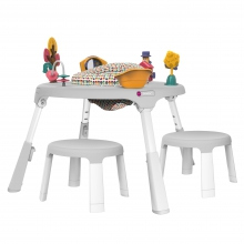 PortaPlay Plus with Stools 4-in-1 Foldable Travel Activity Center - Wonderland Adventures