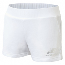 Girls NB Essentials Stacked Logo French Terry Short by New Balance in Chelan WA