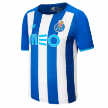 Boys FC Porto Home Junior Short Sleeve Jersey by New Balance