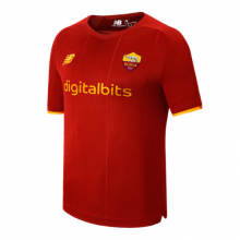 Men's AS Roma Home Short Sleeve Jersey by New Balance in Highland Park IL