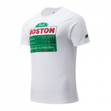 Men's Boston One Mile To Go Graphic Tee by New Balance in Highland Park IL