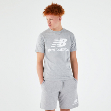 Men's Essentials Stacked Logo Tee