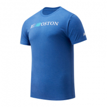 Men's Run Boston Graphic Tee by New Balance in Highland Park IL