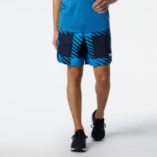 Men's Printed Fast Flight 2 in 1 7 Inch Short by New Balance in Highland Park IL