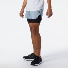 Men's Q Speed Fuel 2 in 1 5 Inch Short by New Balance in Dallas TX
