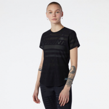 Women's Q Speed Jacquard Short Sleeve by New Balance in Highland Park IL