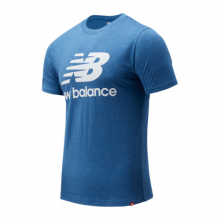 Men's Essentials Stacked Logo Tee by New Balance