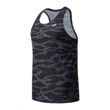 Men's Printed Accelerate Singlet by New Balance in Highland Park IL