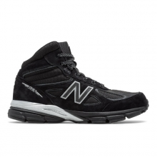 990v4 Mid Black Panther Men's Made in USA Shoes by New Balance in Oro Valley AZ