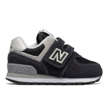 Hook and Loop 574 Core Kids'Infant and Toddler Lifestyle Shoes by New Balance
