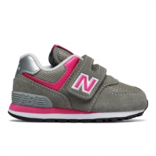 Hook and Loop 574 Core Kids' Infant and Toddler Lifestyle Shoes by New Balance in Fort Morgan Co