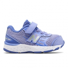 Hook and Loop 680v5 Kids' Infant and Toddler Running Shoes by New Balance
