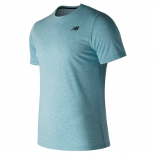 New Balance 73080 Men's Heather Tech Short Sleeve by New Balance in Vancouver Bc
