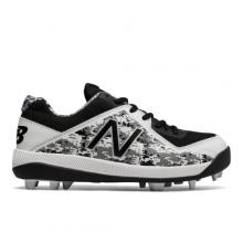 Junior 4040v4 Rubber Molded Pedroia Kids Boys Baseball Shoes