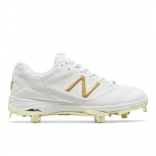 4040v1 Gold Women's Softball Shoes by New Balance