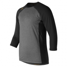 New Balance 650 Men's 3/4 Sleeve 4040 Bold and Gold Compression Top by New Balance in Palo Alto CA