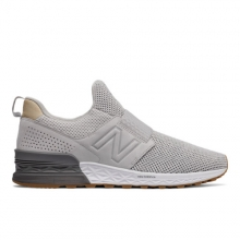 Slip-On 574 Sport Decon Men's Sport Style Shoes by New Balance