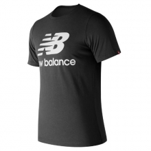 New Balance 83530 Men's Essentials Stacked Logo Tee by New Balance