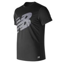 New Balance 83174 Men's Printed Accelerate Short Sleeve