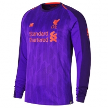 New Balance 839815 Men's LFC Mens Salah Away Long Sleeve No Patch Jersey by New Balance in Palo Alto CA
