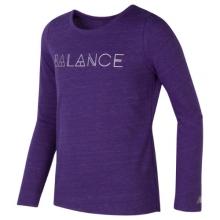 New Balance 17366 Kids' Long Sleeve Performance Top by New Balance
