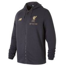 New Balance 831285 Men's Liverpool FC Managers Hoodie