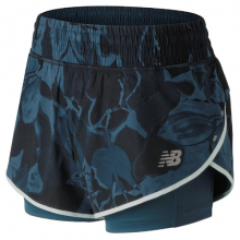 New Balance 81265 Women's 4 Inch Printed Impact Short by New Balance in Mobile Al