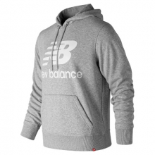 New Balance 91547 Men's Essentials Stacked Logo Po Hoodie by New Balance in Tigard OR