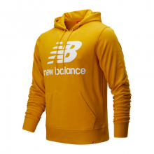 91547 Men's Essentials Stacked Logo Po Hoodie by New Balance in Victoria BC