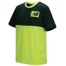 New Balance 18221 Kids' Short Sleeve Pieced Performance Tee