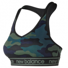 New Balance 91035 Women's NB Pace Bra Printed 2.0 by New Balance in Mystic Ct