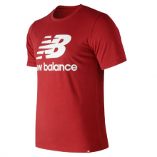 New Balance 91546 Men's Essentials Stacked Logo Tee by New Balance