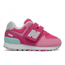 Hook and Loop 574 Kids' Infant and Toddler Lifestyle Shoes by New Balance