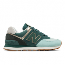 574 Metallic Patch Women's 574 Shoes by New Balance in Cordova TN