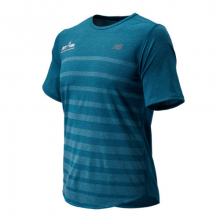 New Balance 83250 Men's Run 4 Life Q Speed Jacquard Short Sleeve