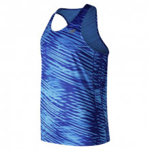 New Balance 91166 Men's Printed Accelerate Singlet by New Balance