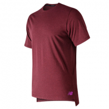 New Balance 91053 Men's R.W.T. Heathertech Tee by New Balance in Mystic Ct
