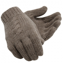 500376 Women's Womens Luxe Knit Gloves by New Balance