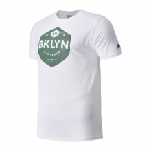 New Balance 91610 Men's Brooklyn Half Finisher Short Sleeve by New Balance in Mystic Ct