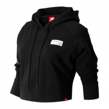 New Balance 91587 Women's Brooklyn Half Essentials Cropped Finisher Hoodie by New Balance