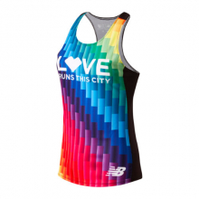 New Balance 90298 Women's Pride Singlet by New Balance in Mystic Ct