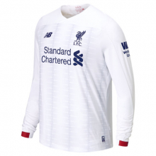 New Balance 939857 Men's Liverpool FC Away LS Jersey EPL Patch by New Balance
